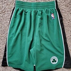 Adidas Boston Celtics Basketball Shorts